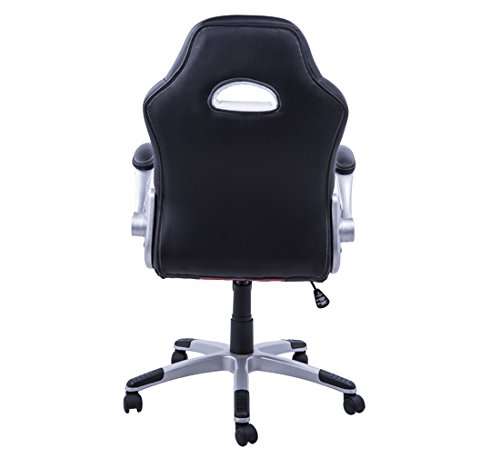 Homcom office Chair executive sports chair study steering swivel ...
