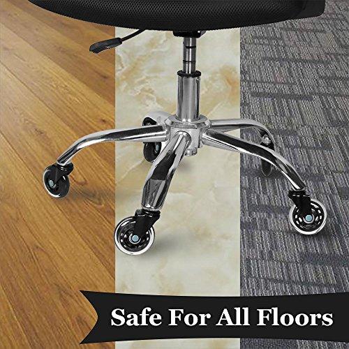 Ruedas de goma de repuesto para sillas de oficina, diseño de ruedas ...