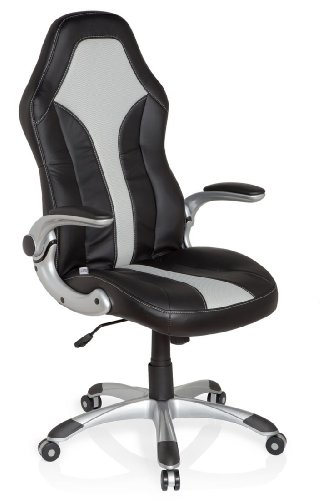 hjh OFFICE 621780 silla gaming RACER 400 piel sintética ...